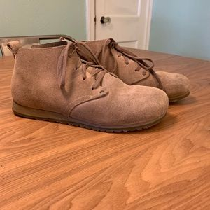 Taupe Birkenstock Ankle Boots size 39